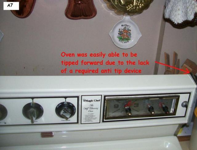 Anti Tip Device Needed
