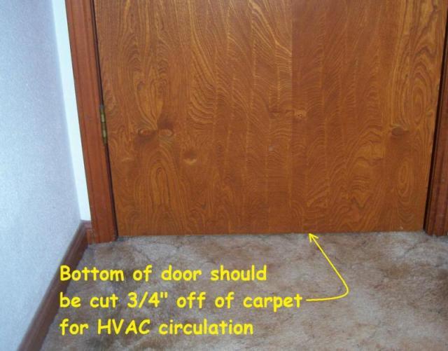HVAC air circulation