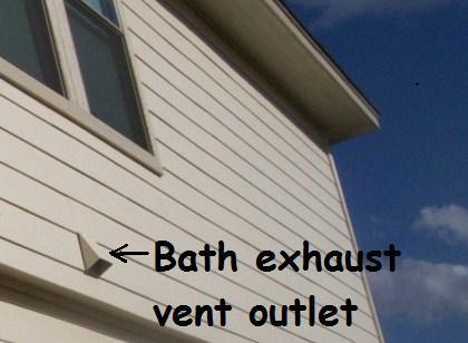 Bath vent duct jwk inspections for Bathroom exhaust fan exterior cover
