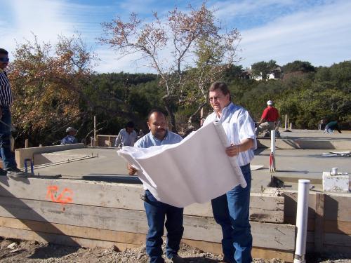 San Antonio area slab foundation