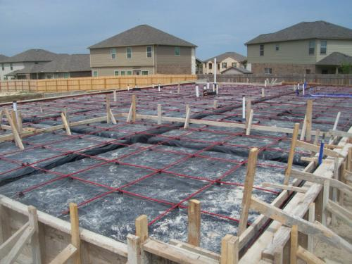 Post tensioned slabs in san antonio jwk inspections for House slab foundation