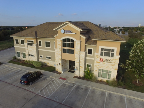 Drone commercial property inspection San Antonio
