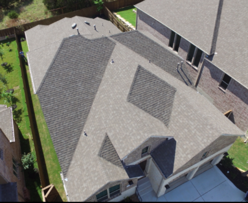 JWK Inspections Drone roof view San Antonio Texas