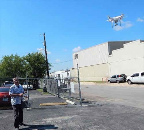 JWK Inspections Drone Roof Review Commercial Property Building San Antonio
