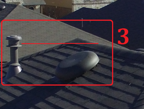 Drone San Antonio JWK Inspections Gas Vent Flue Pipe Roof Inspection