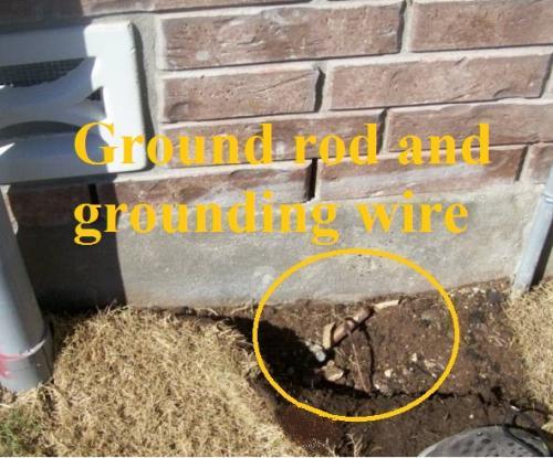 ground rods needed jwk inspections. Black Bedroom Furniture Sets. Home Design Ideas