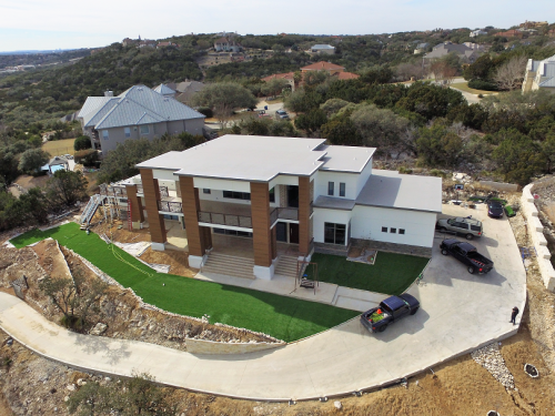 JWK Inspections & Consulting Drone View New Custom Home