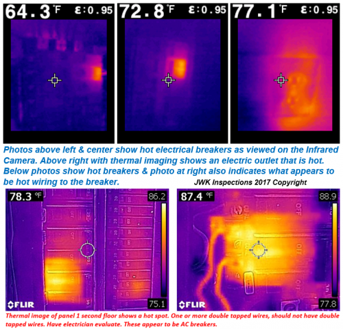San Antonio TX Thermal Imaging Infrared Camera Electrical JWK Inspections